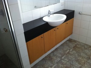 Bathroom Joinery - BEFORE